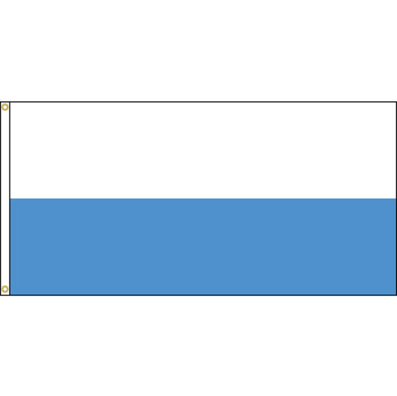 San Marino Flag with header and grommets.
