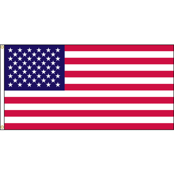 American Flag with grommets
