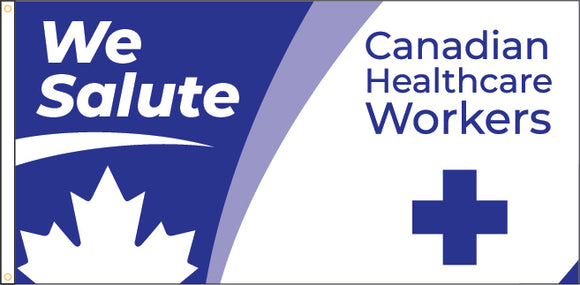 We Salute Healthcare Workers - $25 Donation to CanadaHelps.org