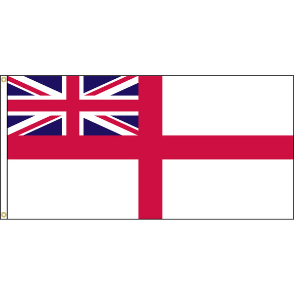 White Ensign flag.