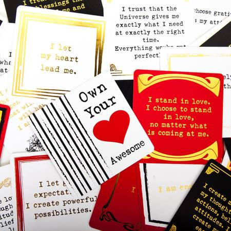 Affirmations Card Set