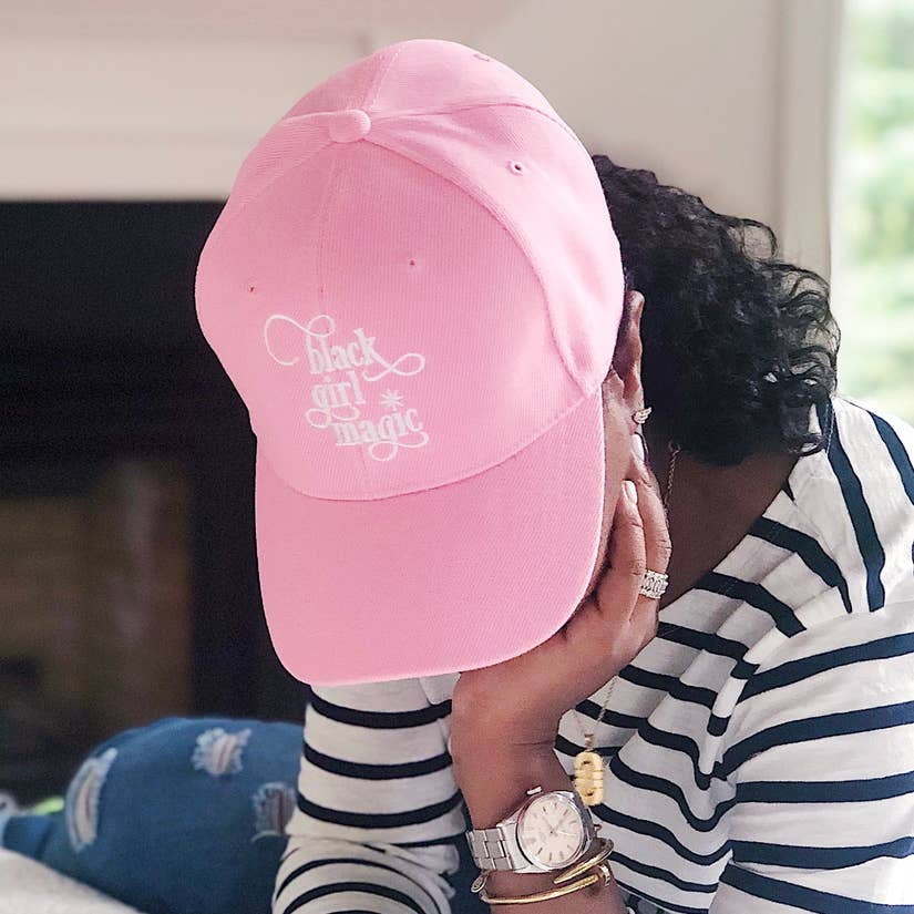 Black Girl Magic Baseball Cap