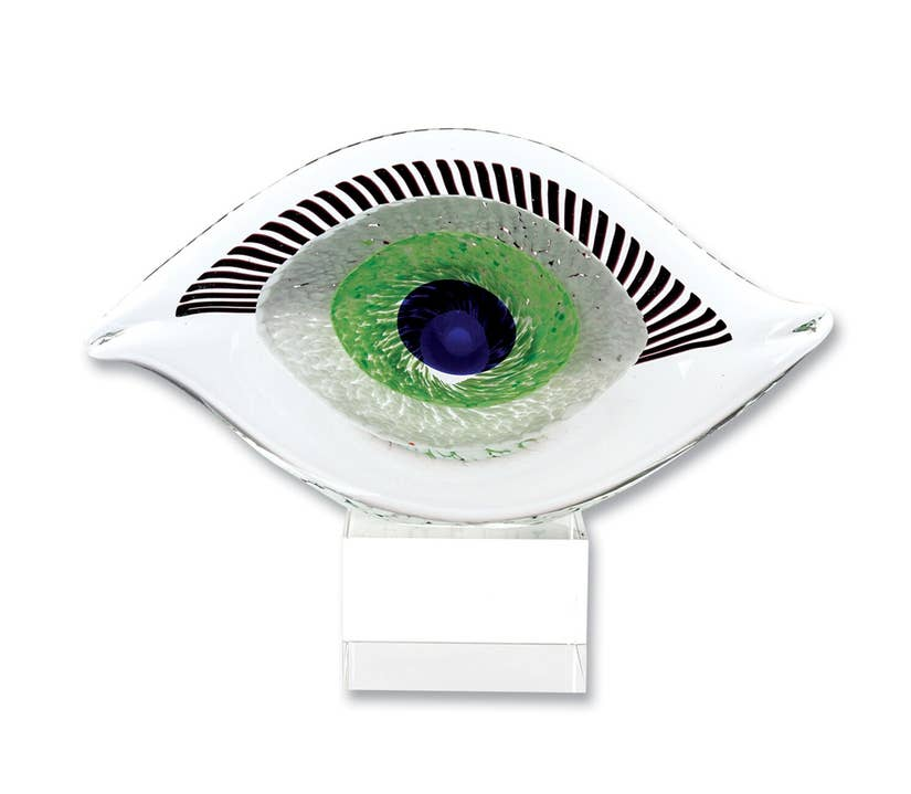 Evil Eye Glass Centerpiece