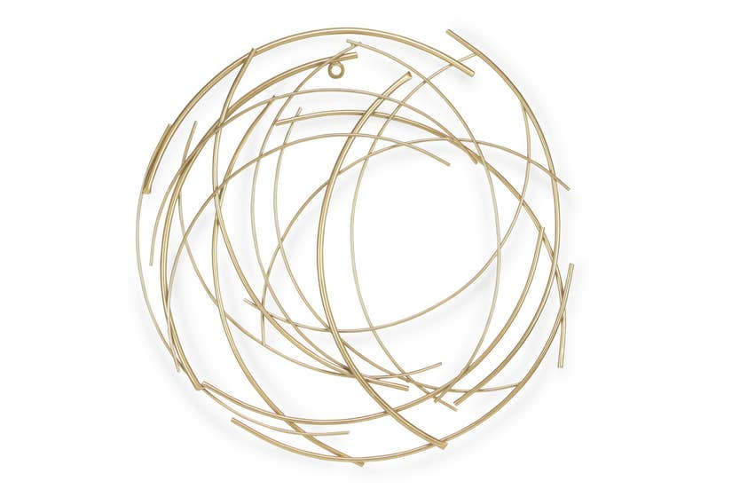 Gold Rings Wall Decor