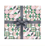 Geo Wrapping Paper Sheet