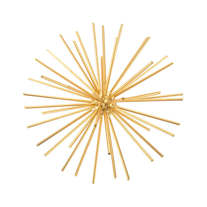 Large Gold Burst Wall Decor