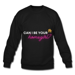 Real Estate Homegirl Sweatshirt - black