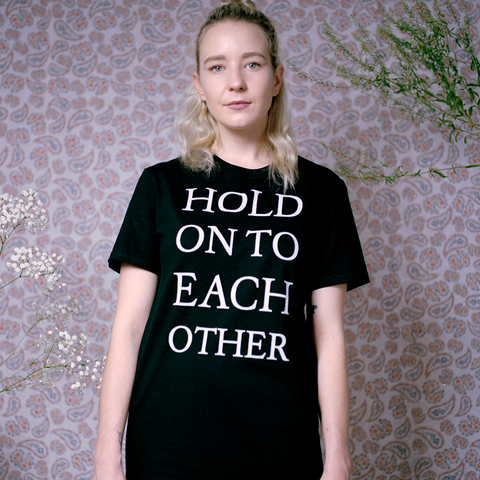 Black Hold On Tee + Digital Album