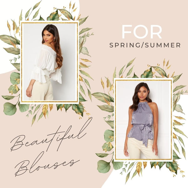 Our New Collection is Bursting with Beautiful Blouses that can be worn throughout the Season with Jeans, Skirts or Trousers.  Attention to Detail is at the heart of everything we do because it really is the little things that make a Piece feel Special. We've got Ruffles, Bows, Darts and more...  Check our some of our Favourites:
