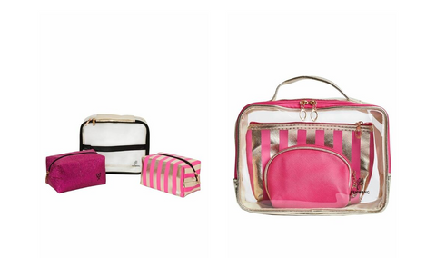 This is an Image of our Rosie and Lily set of three cosmetic bags