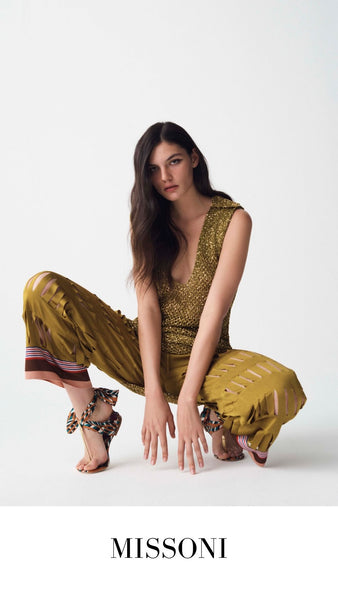 Missoni Gold Outfit S/S 2021