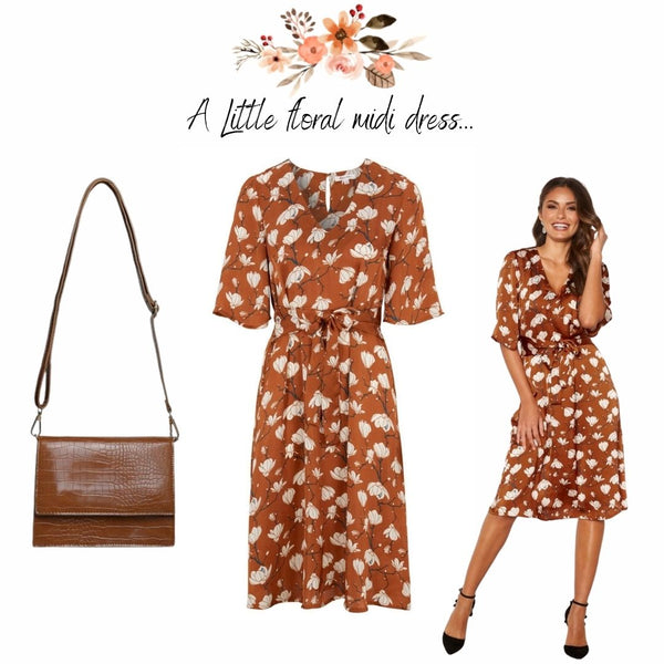 This is an image of the Miriam Dress. You really can't go wrong with a Classic Floral Print for Summer Occasion-wear. The Beauty of our Dress options this Summer is that they can all be Styled with Heels for Wedding Guests, With Block Heels for Drinks with the Girls or with Flat White Runners or Sandals for more of a Daywear Vibe. The Styling options are endless and a Strong Vibrant print is a great way to add some Colour to your Summer Wardrobe.