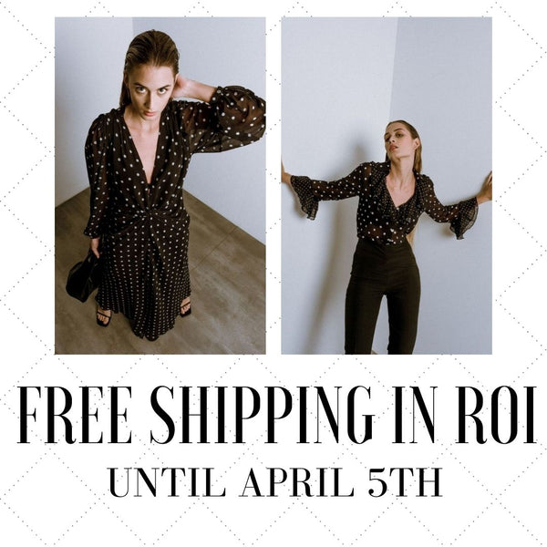 Free shipping on All Irish Orders Until April 5th