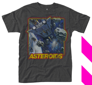 Asteroids Atari 80s Synthwave Tee T Shirt