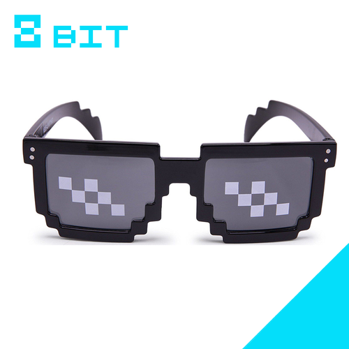 8 Bit Deal With It Sunglasses