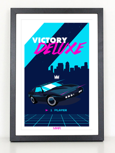 VICTORY DELUXE Rider 80s poster print