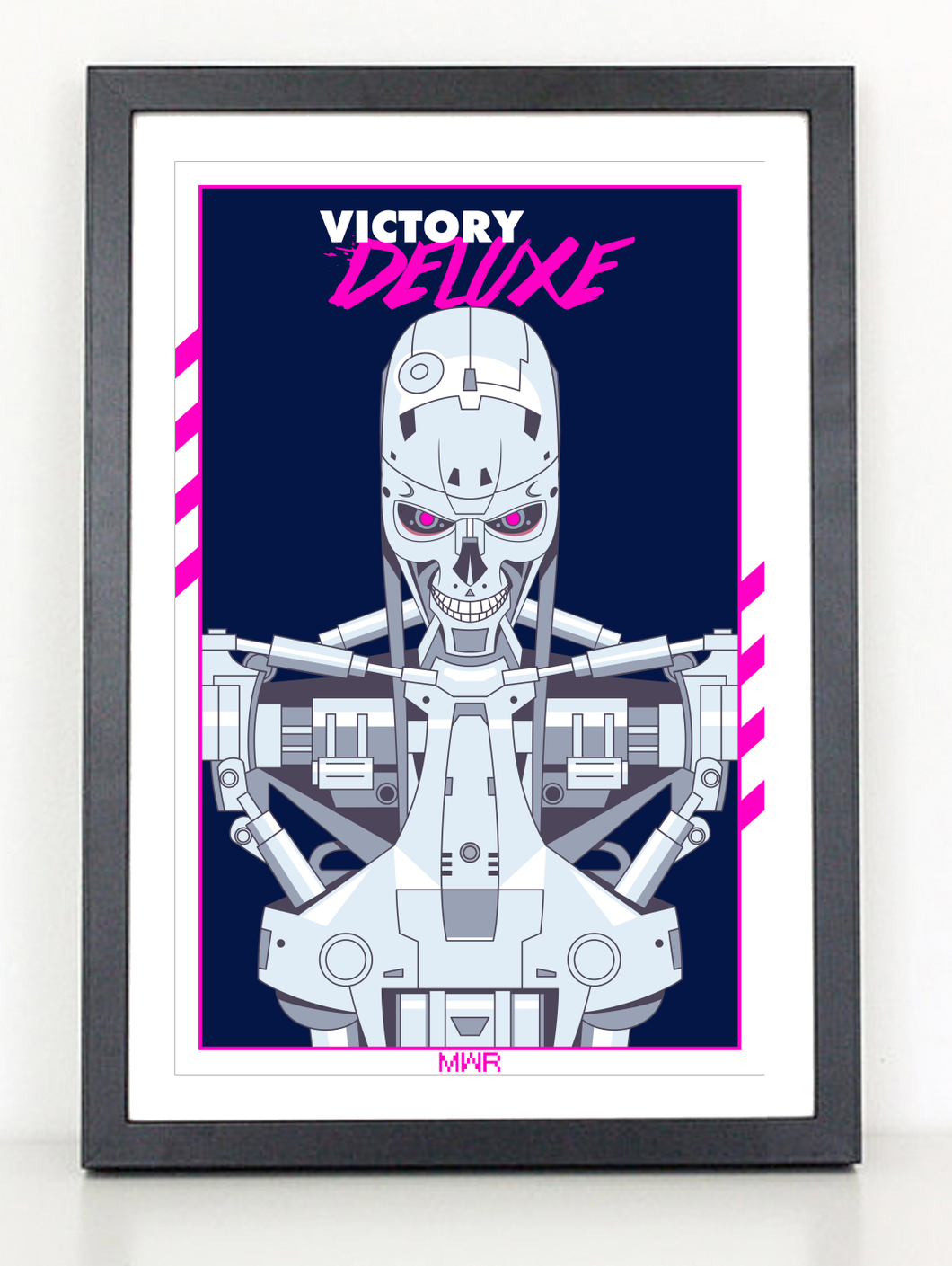 VICTORY DELUXE Terminator 80s poster print