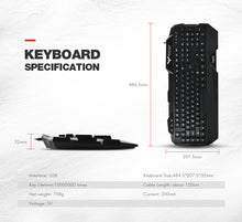 HAVIT Gaming Keyboard and Mouse Combo USB Wired