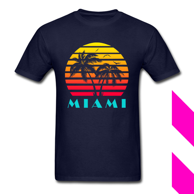 Miami 80s Synthwave Tee T Shirt