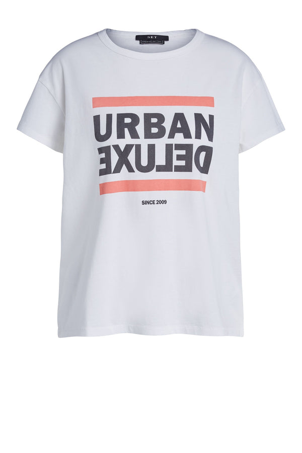 Urban Delux Tee Bright White