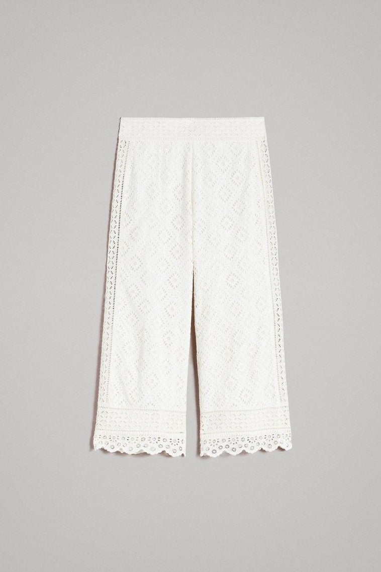 Broderie Anglaise Trousers