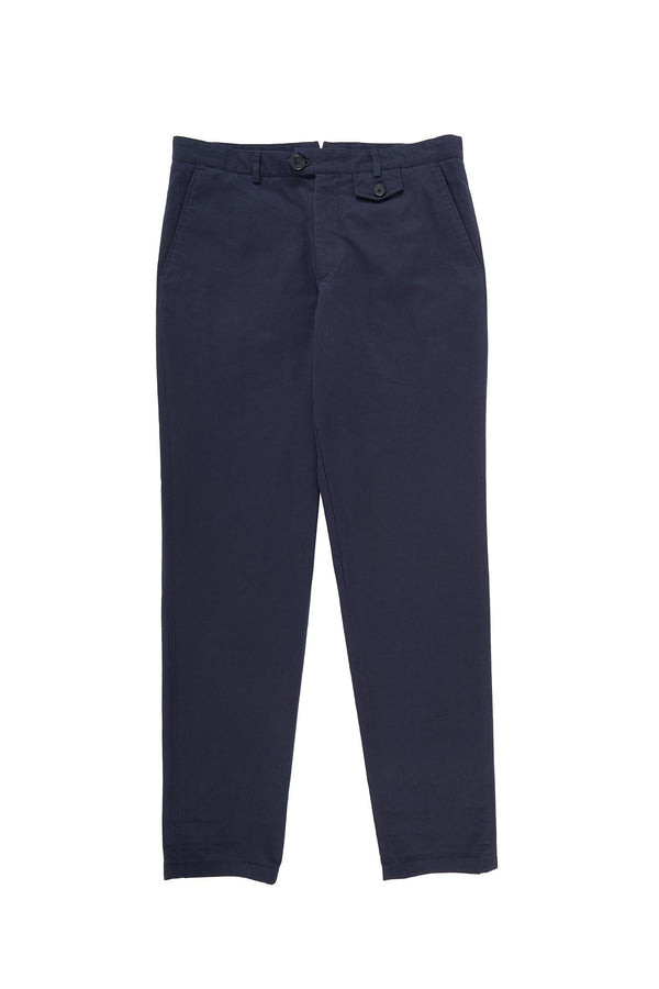 Fishtail Trousers Navy