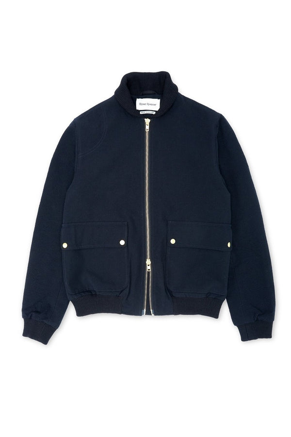 Bermondsey Bomber Jacket Midnight