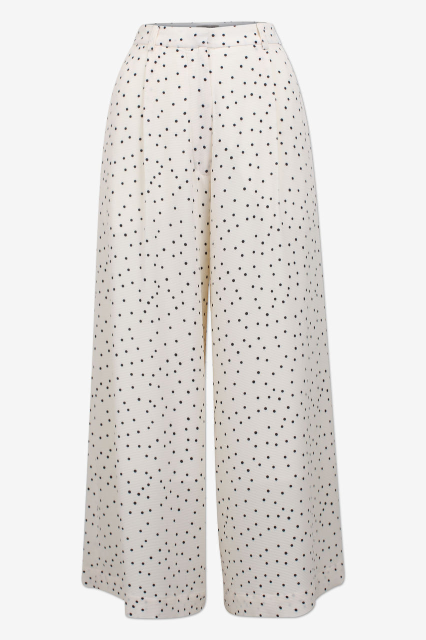 Nella Cream Black/Flying Dots