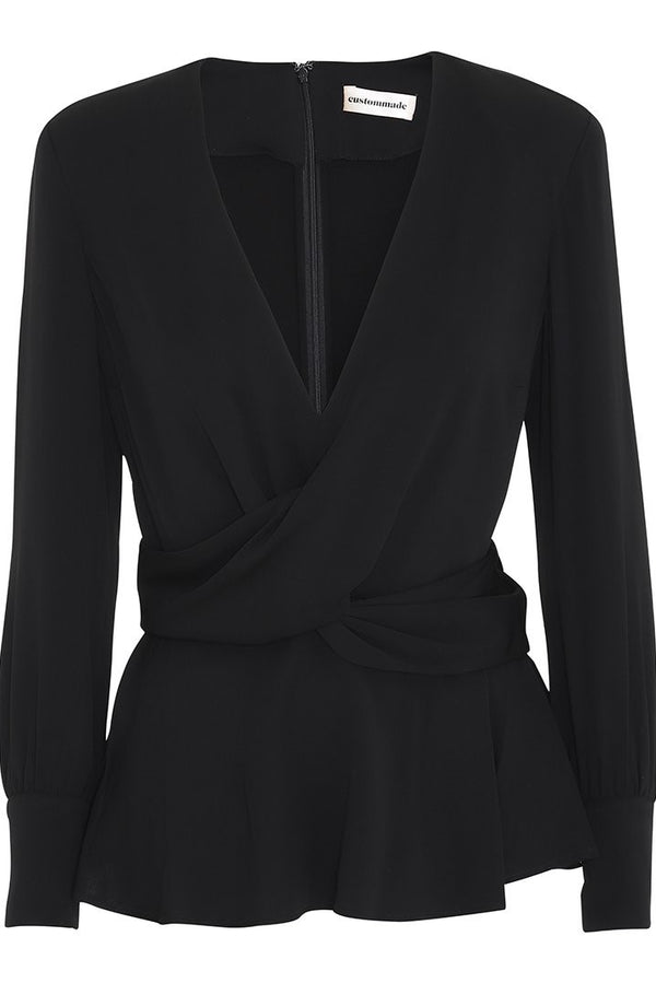 Day Blouse Anthracite Black