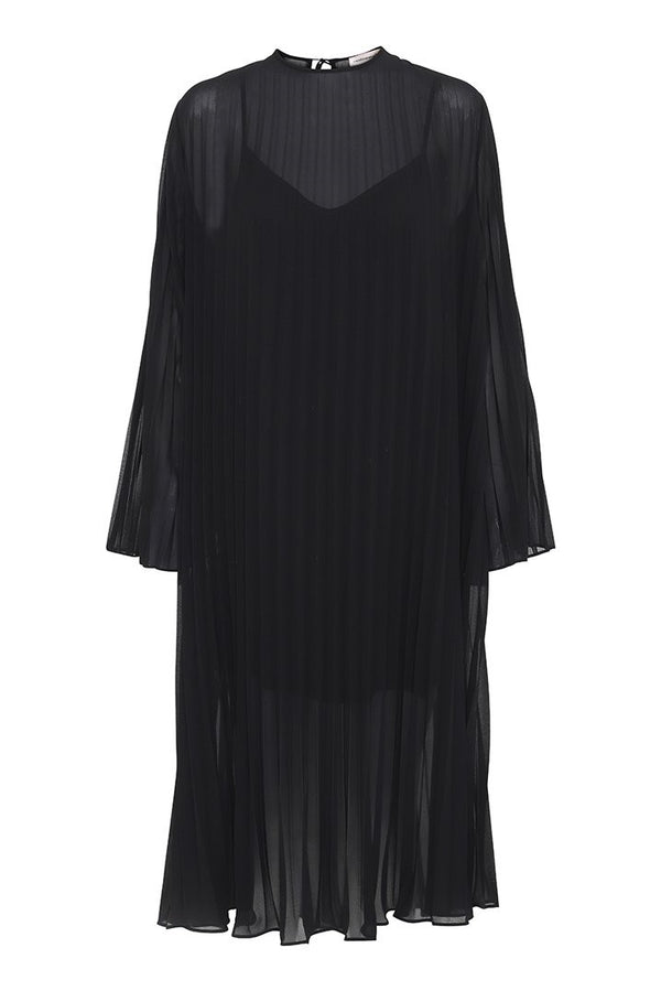 Agate Dress Anthracite Black