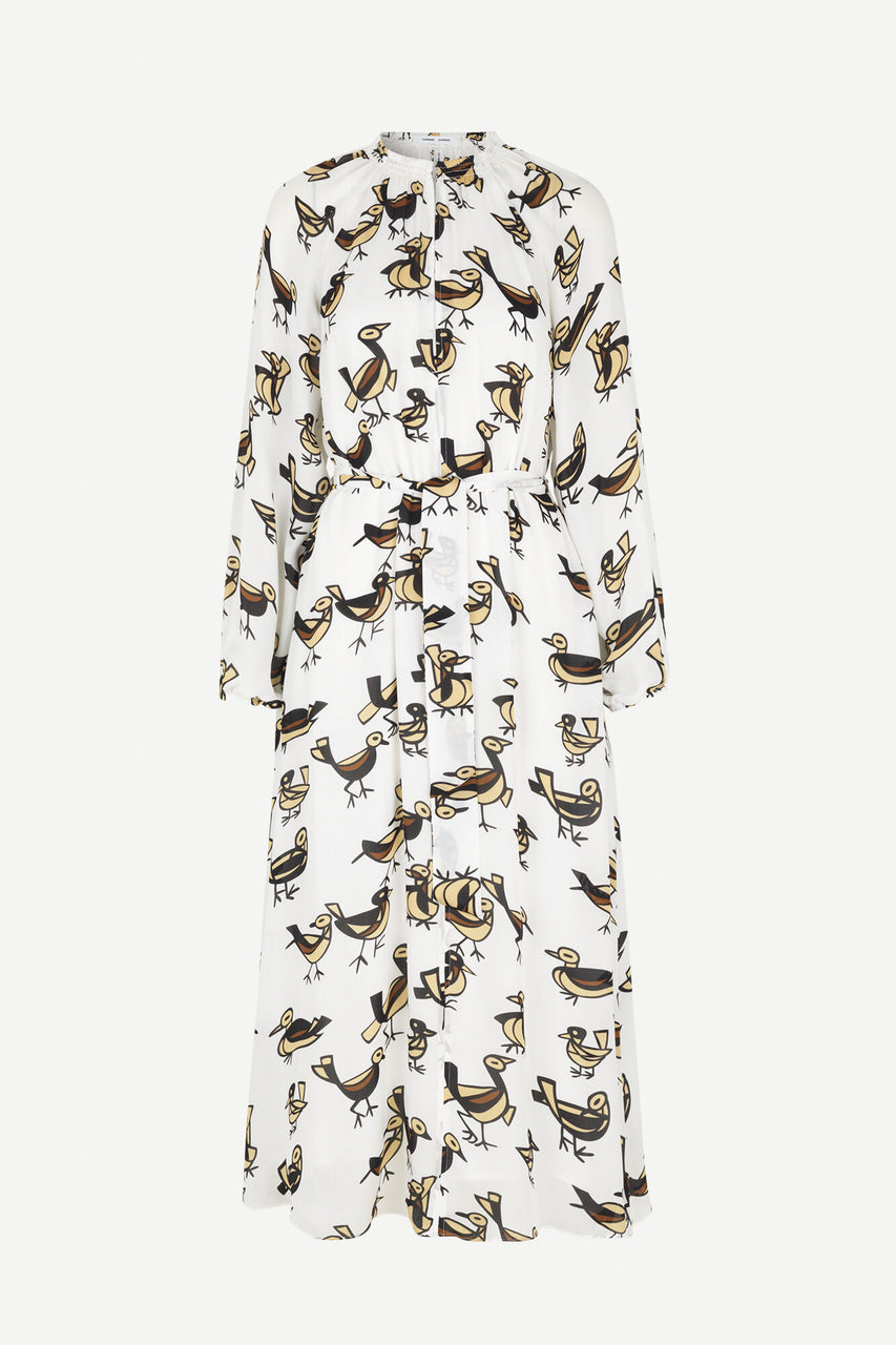 Kaia Long Dress AOP Lovebirds