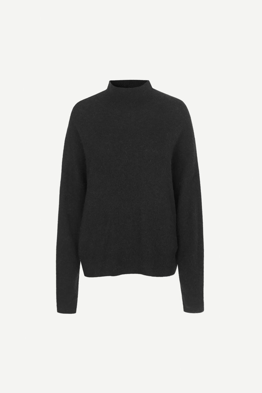 Jaci Turtleneck Black Mel