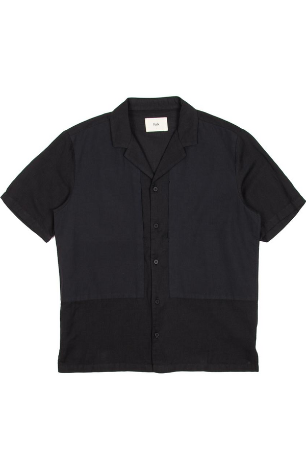 Overlay Shirt Soft Black