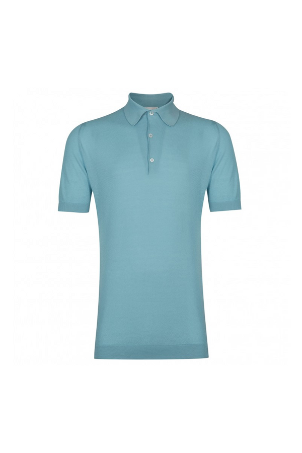 Roth Pique Polo Pure Blue