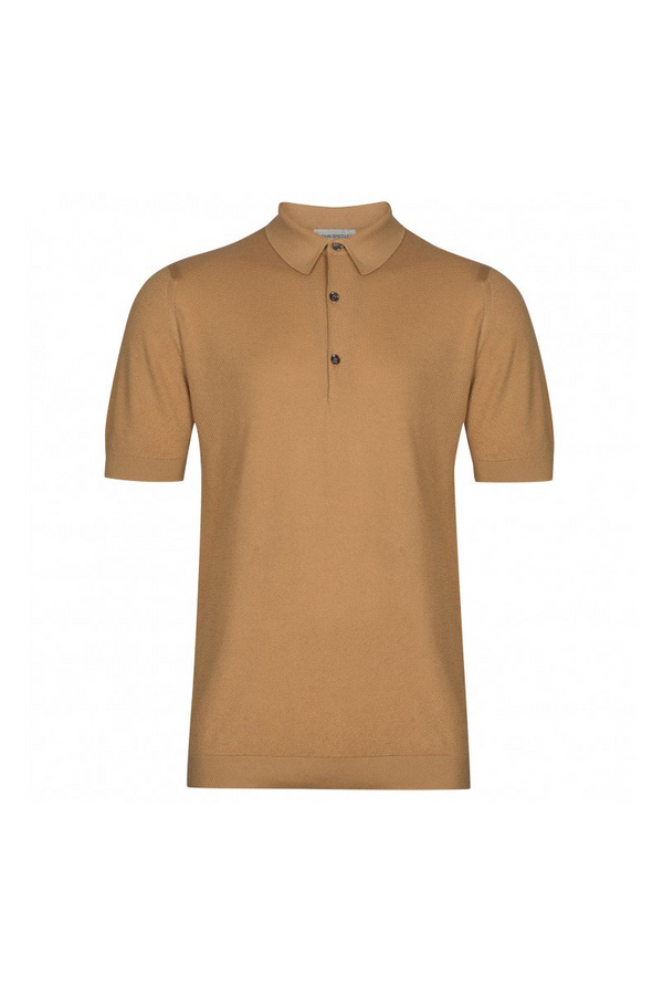 Roth Pique Polo Light Camel