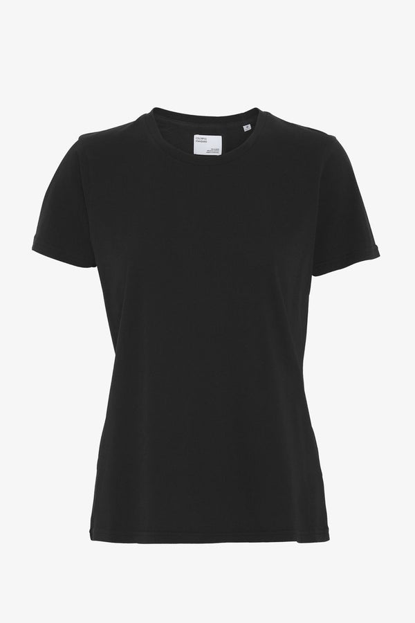 Women Organic Tee Deep Black