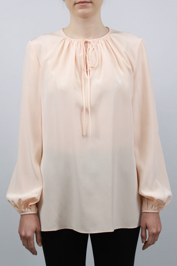 L/S Key Hole Blouse