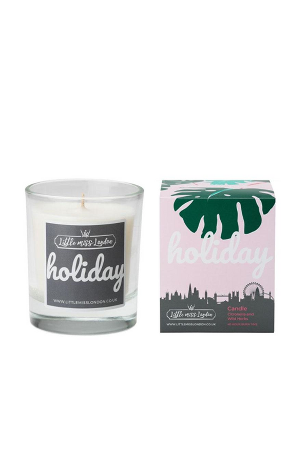 Fragranced Candle Holiday