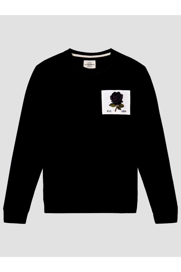 1926 Rose Patch Icon Sweat Black