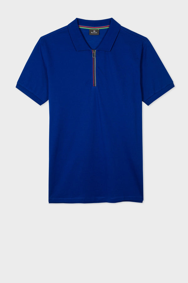 Zip Polo Indigo