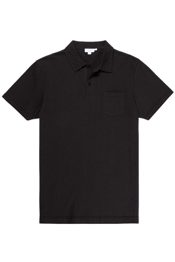 Riviera S/S Polo Black