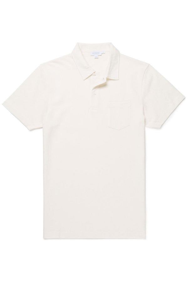 Riviera Polo Archive White