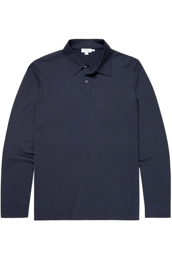 L/S Mercerised Polo