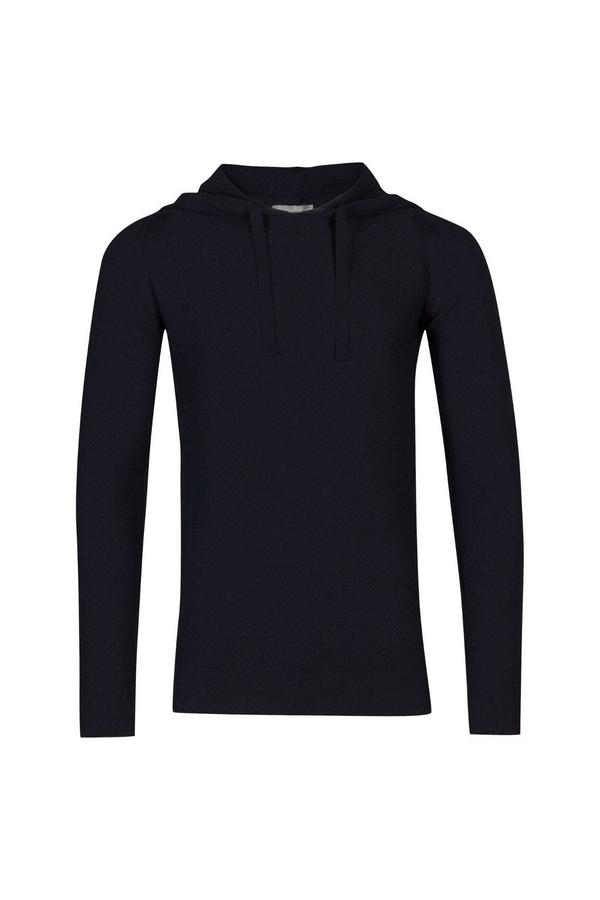4Singular Knitted Hoody Midnight