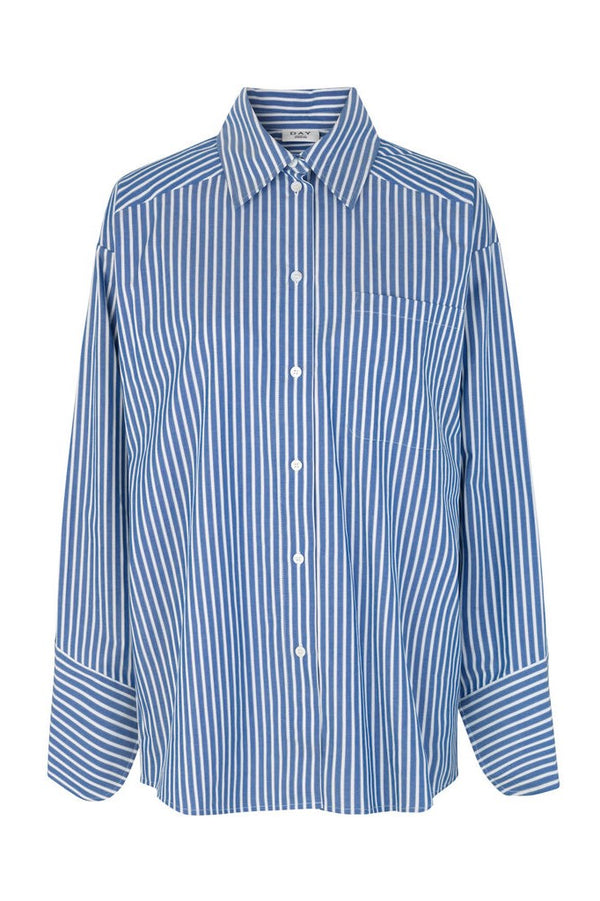 Springtime Shirt Navy White