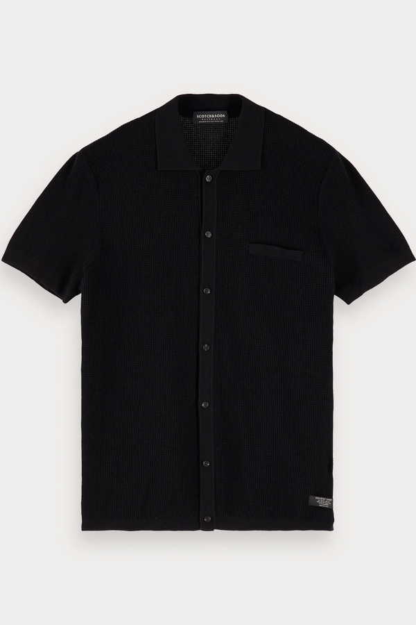 Retro Inspired Shirt Black