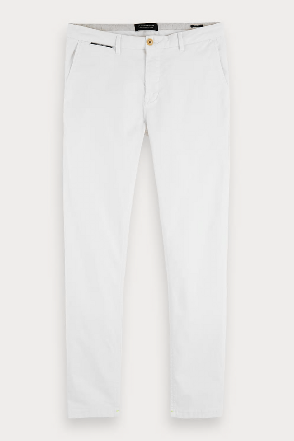 Mott Classic Chino Denim White