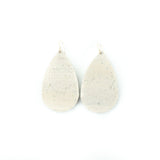 Oak Cork Leather Earrings