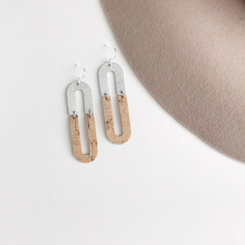 Jane Leather Earrings