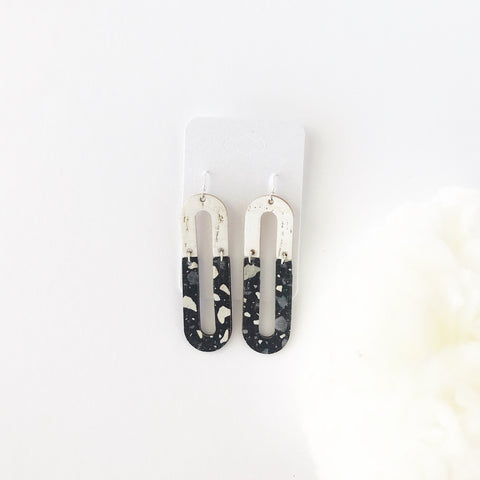 Nova Leather Earrings